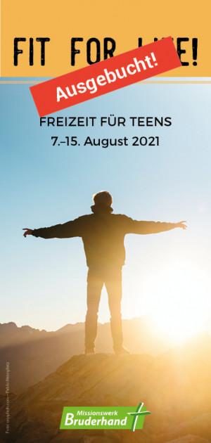 fit for life! – Sommer 2021 (Ausgebucht)