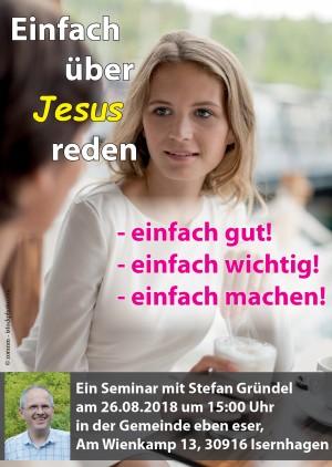 """Schulung """"Einfach über Jesus reden!"""""""