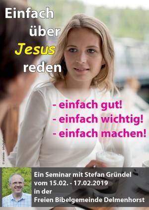 """Seminar """"Einfach über Jesus reden"""""""