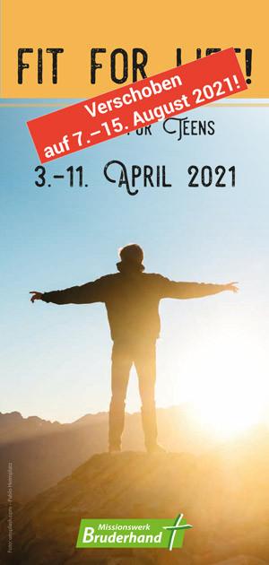 fit for life! – Ostern 2021 - Verschoben!