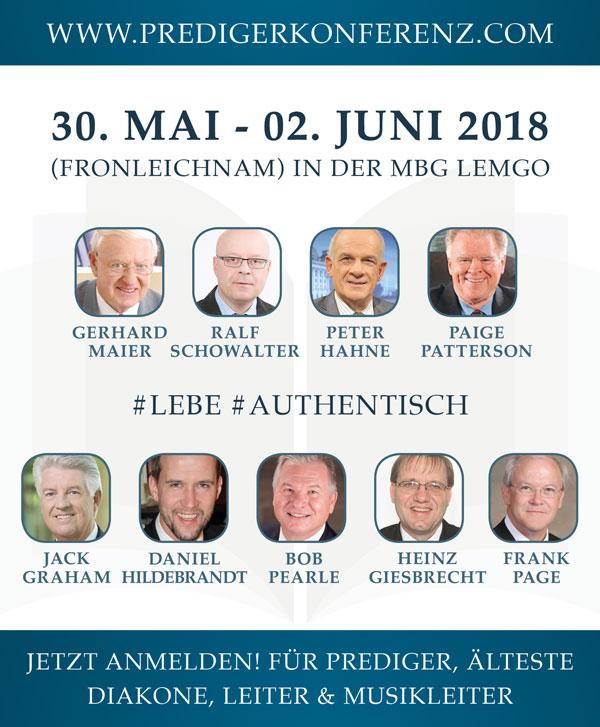 Predigerkonferenz 2018