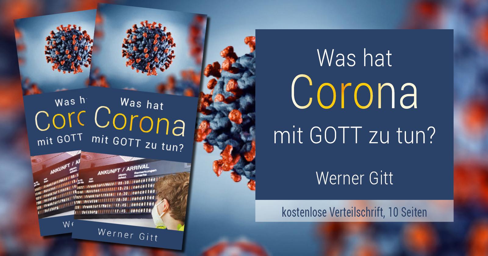 Was hat Corona mit Gott zu tun?