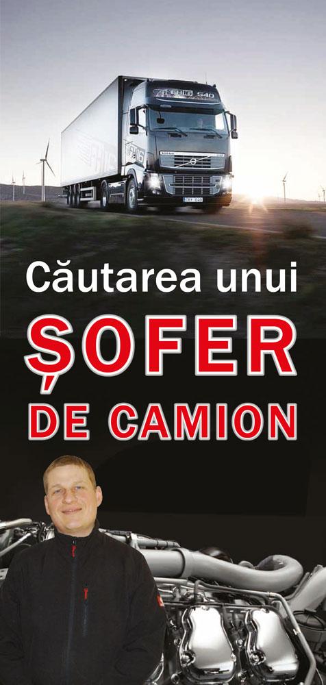 Rumänisch: Die Sehnsucht eines LKW-Fahrers