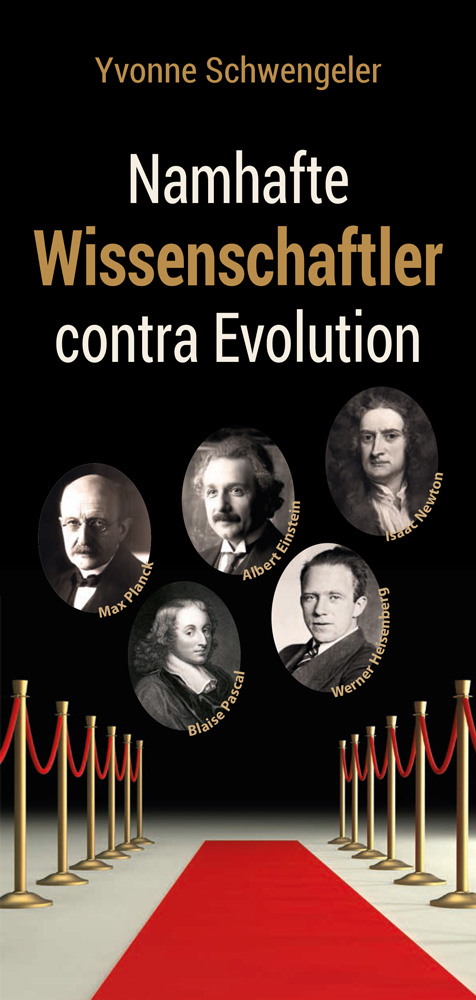 Namhafte Wissenschaftler contra Evolution