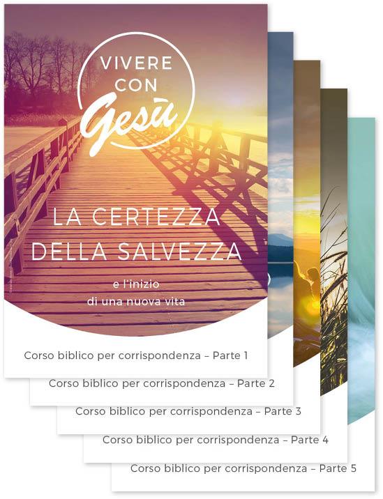 Italienisch: Bibelfernkurs – Mit Jesus leben – Teile 1–5