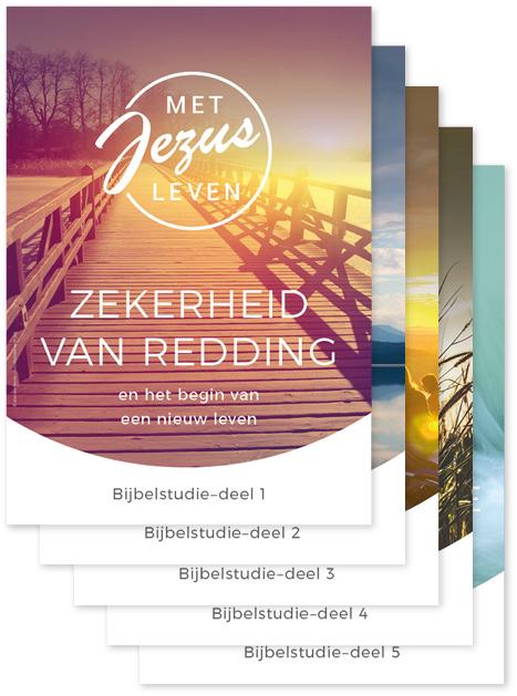Niederländisch: Bibelfernkurs – Mit Jesus leben – Teile 1–5