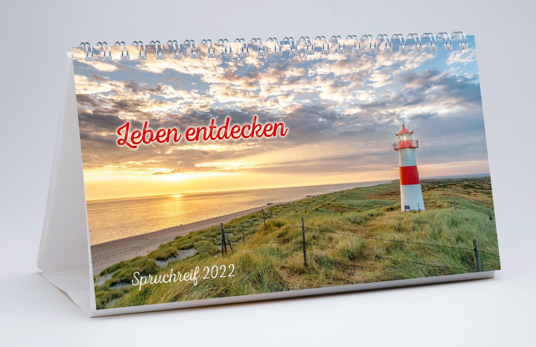 Leben entdecken - Spruchreif 2022 (Verteilkalender)