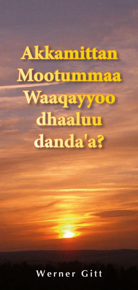 Oromo: Wie komme ich in den Himmel?