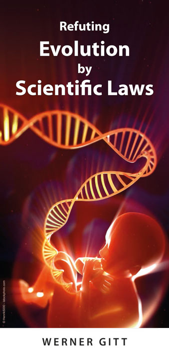 Englisch: Widerlegung der Evolution durch Naturgesetze