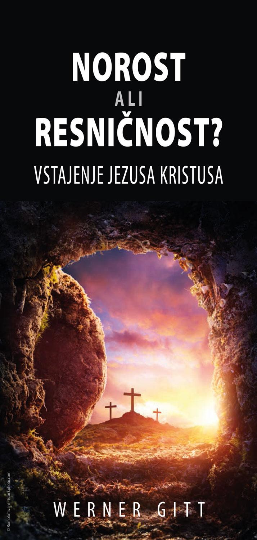 Slowenisch: Wahn oder Wirklichkeit? Die Auferstehung Jesu Christi