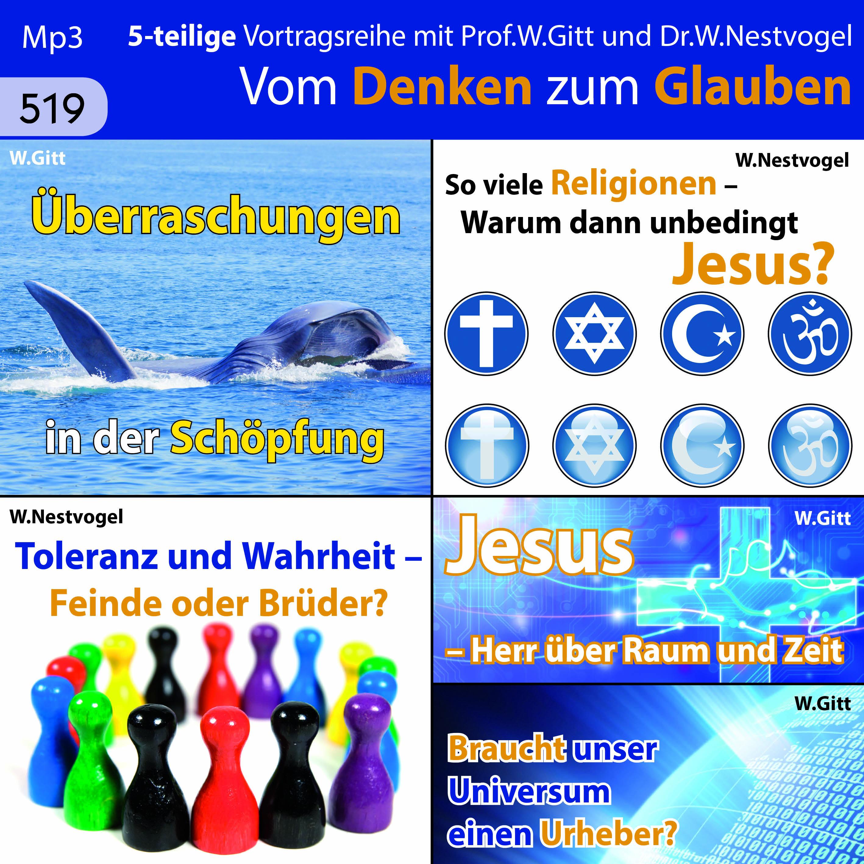 Vom Denken zum Glauben (MP3-CD)