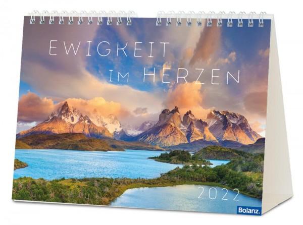 Ewigkeit in Herzen 2022 - Panorama Postkartenkalender