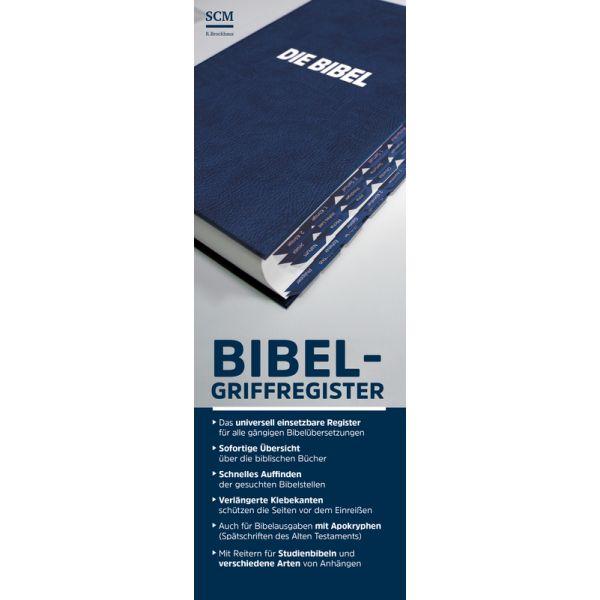 Bibel-Griffregister (blau)