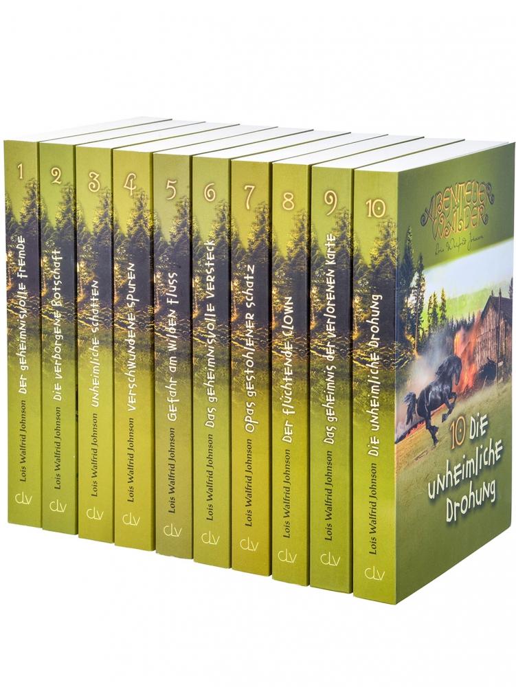 Die Abenteuerwälder (10 Bände im Paket)
