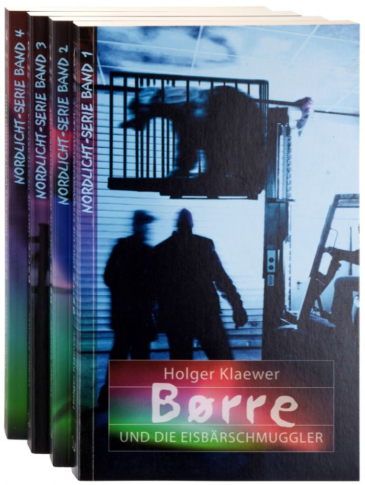 Buchpaket – Nordlicht-Serie Børre (Band 1–4)