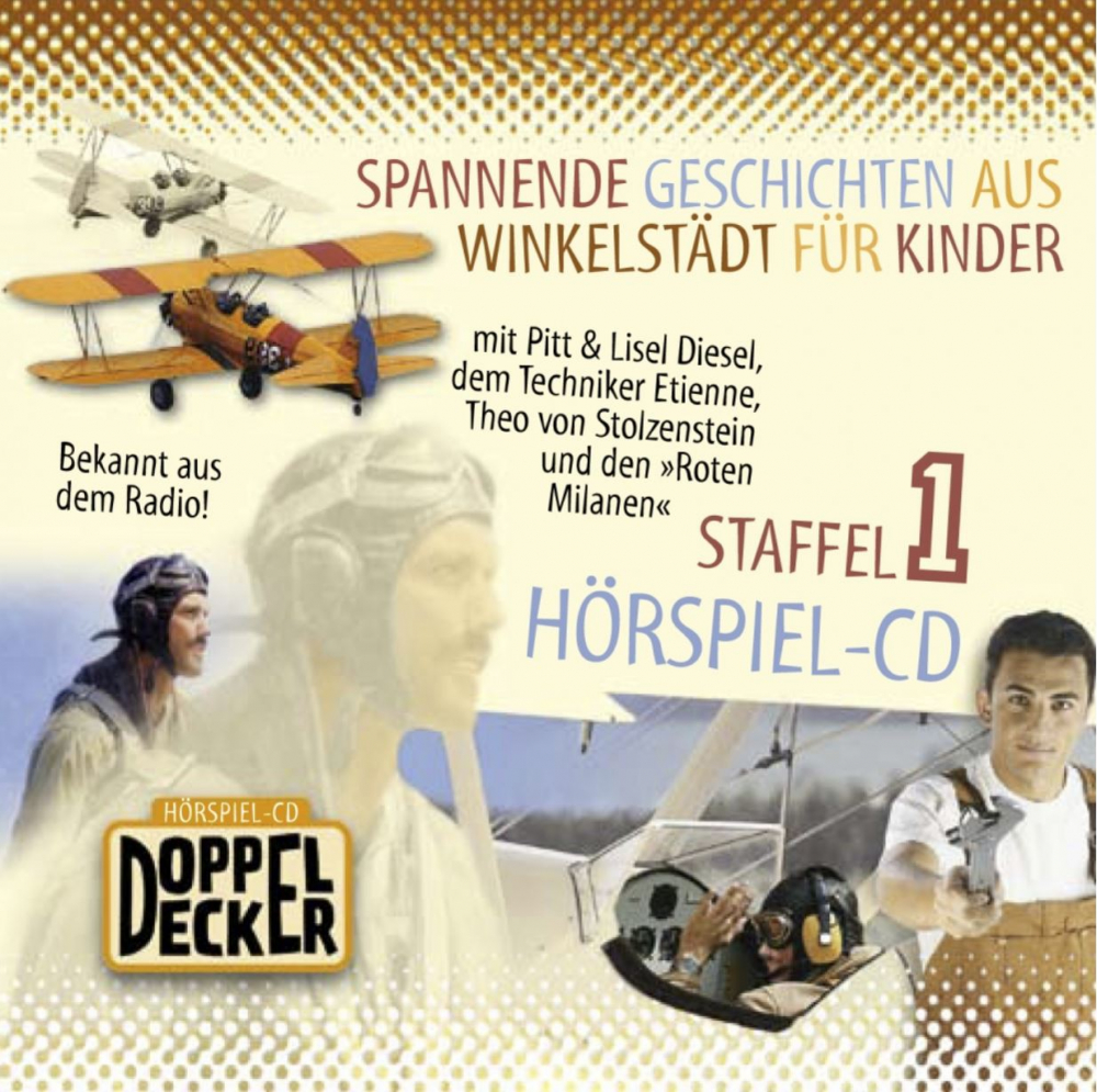 Radio Doppeldecker – Staffel 1 (Audio-CD)
