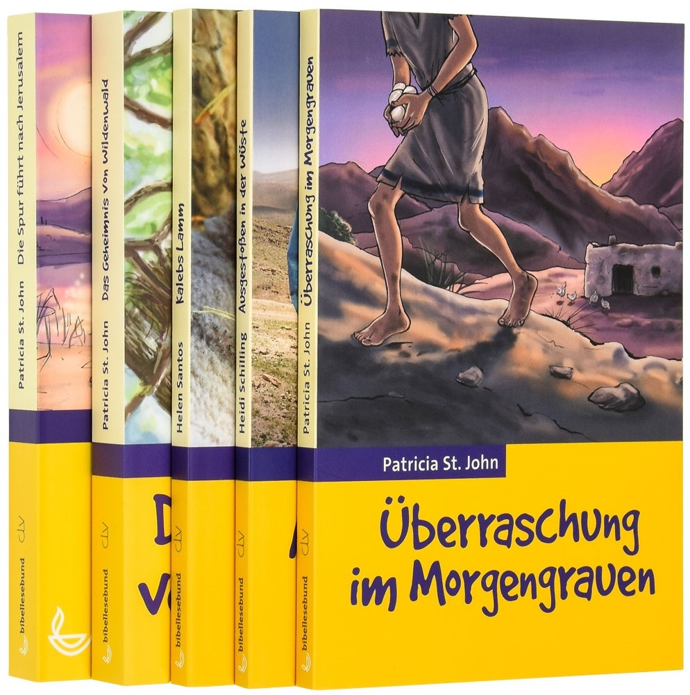 """Kinderbuch-Paket """"Gelbe Reihe"""" (5 Bände im Paket)"""