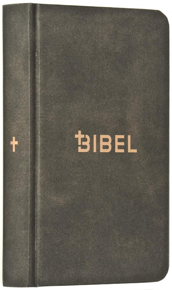 Die Bibel – Schlachter 2000 (Miniaturausgabe in Antikleder-Optik)