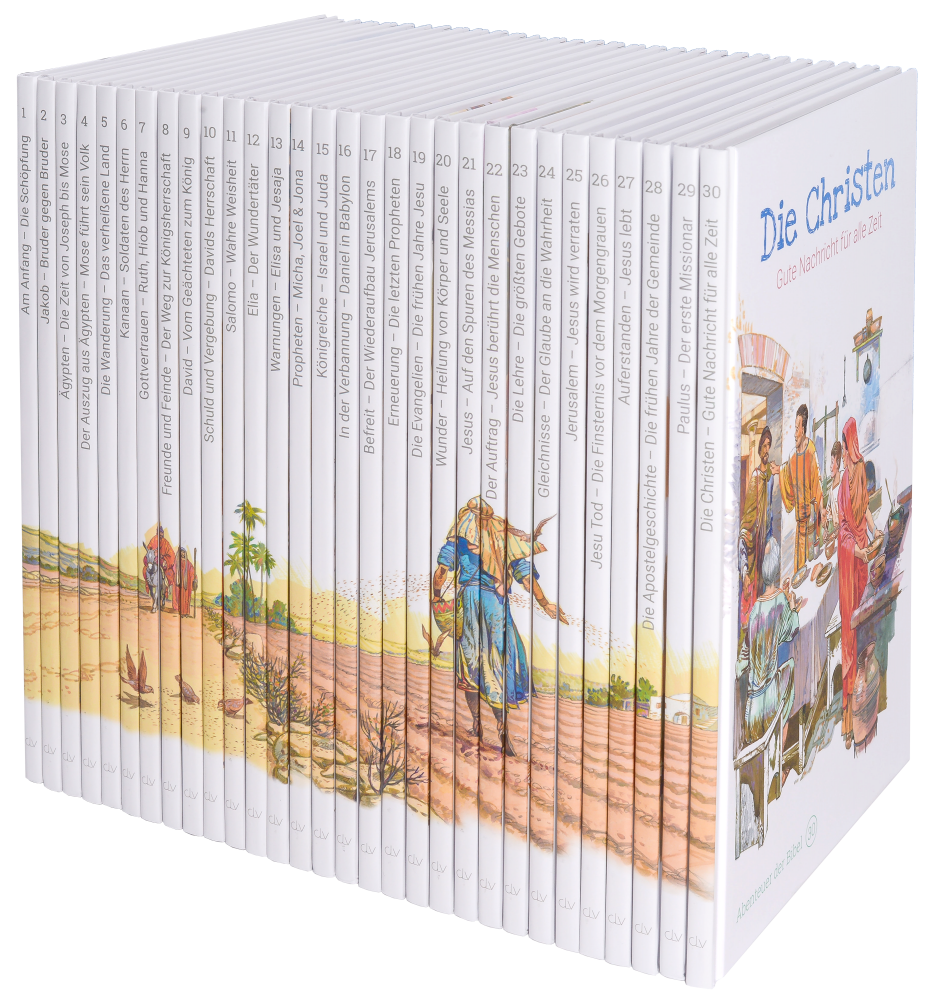 Abenteuer der Bibel – Kinderbibel in 30 Bänden