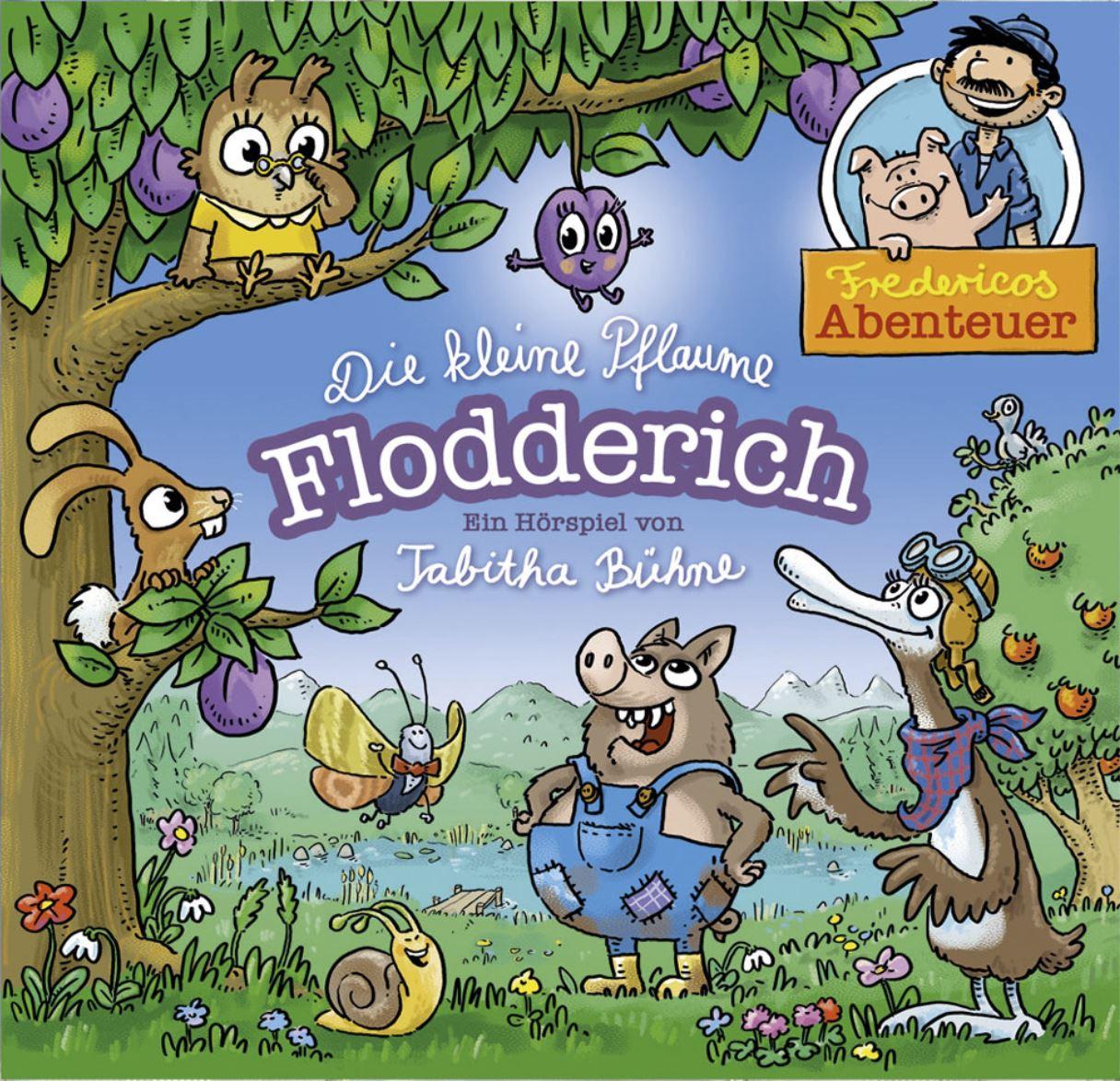 Die kleine Pflaume Flodderich (Audio-CD)