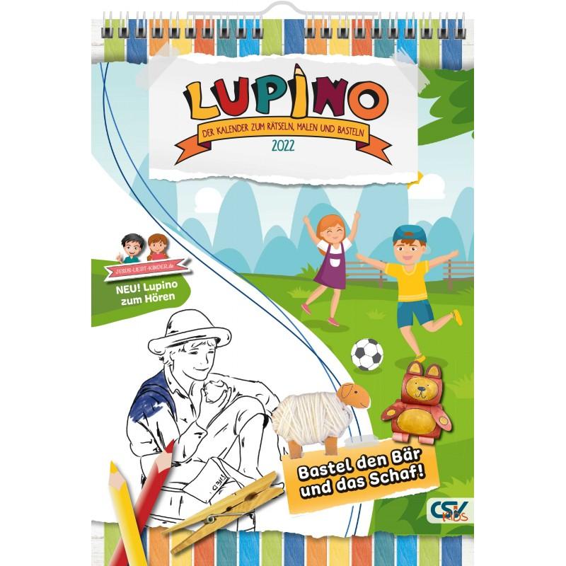 Lupino 2022 – Der Wandkalender für Kinder