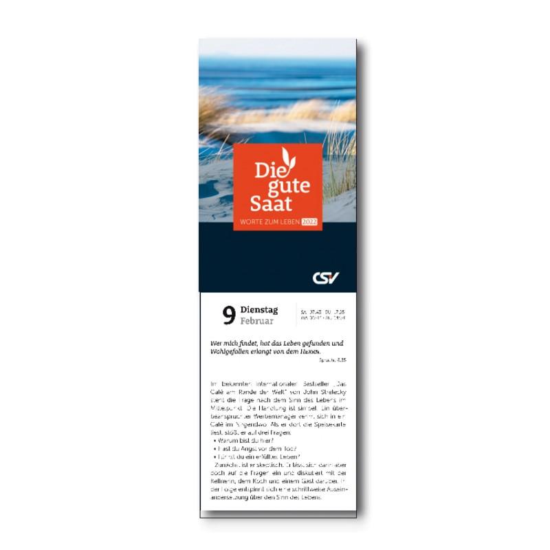 Die gute Saat 2022 – Abreißkalender (klein)