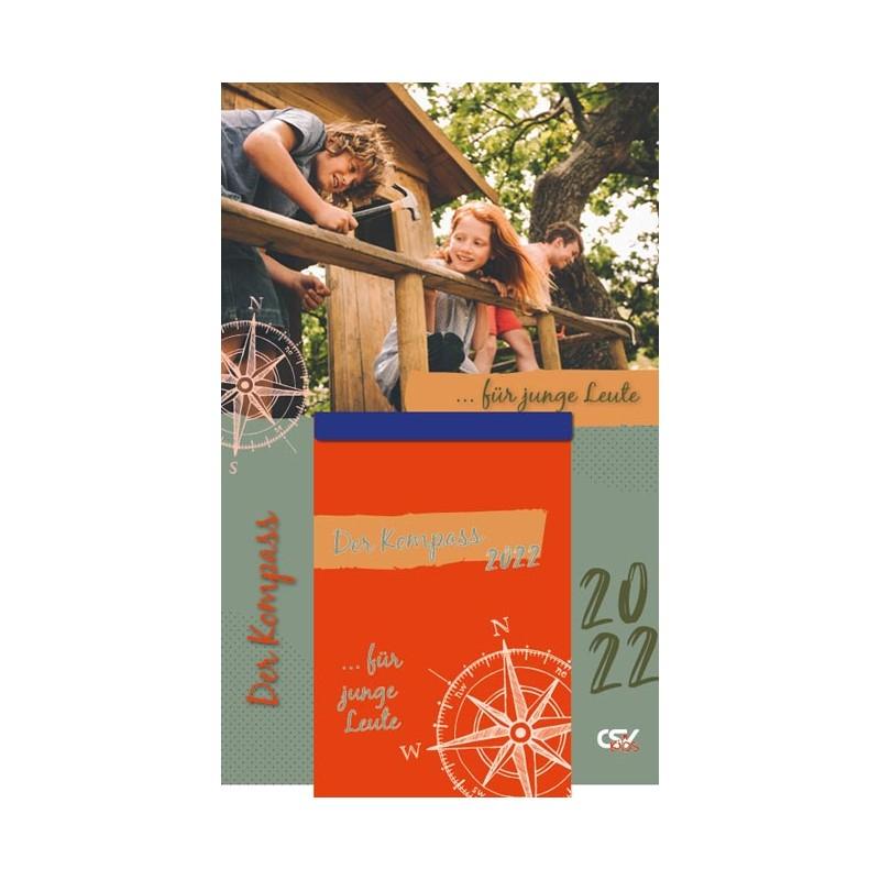 Der Kompass 2022 – Abreißkalender für junge Leute
