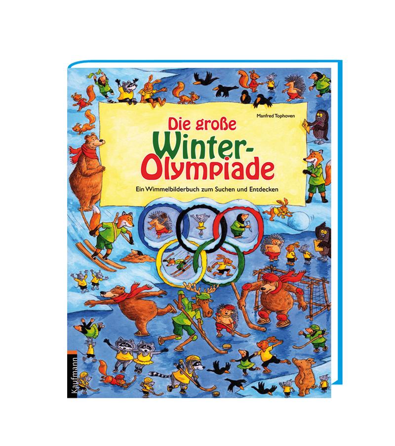 Die große Winter-Olympiade – Ein Wimmelbilderbuch zum Suchen und Entdecken