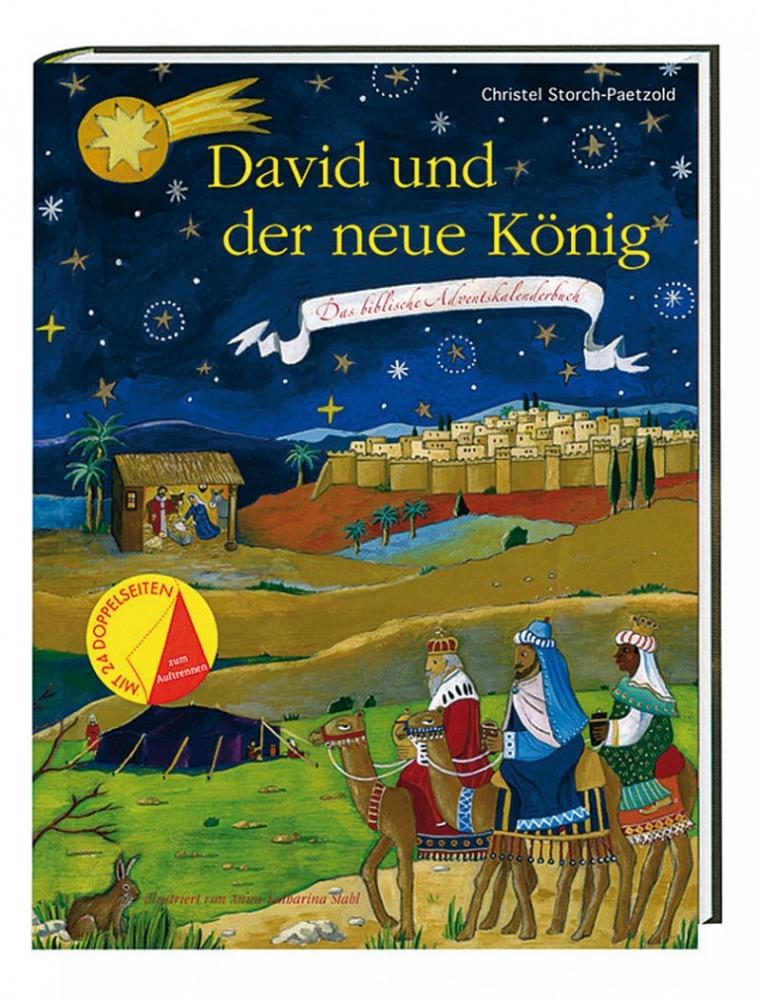 David und der neue König – Das biblische Adventskalenderbuch