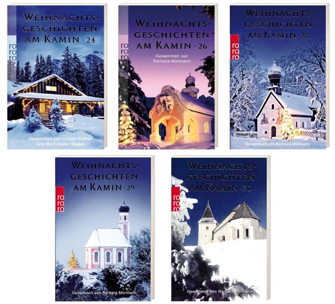 5-er Pack: Weihnachtsgeschichten am Kamin