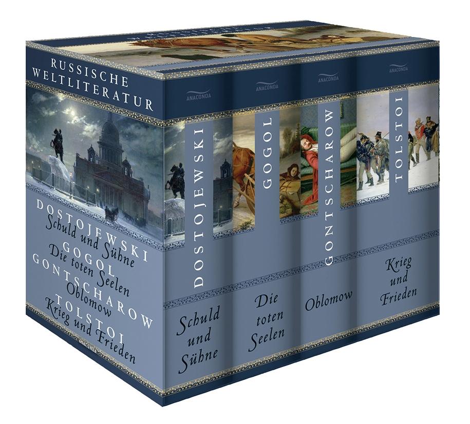 4-er Pack: Russische Weltliteratur
