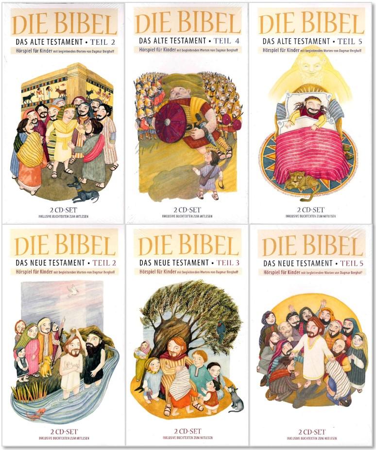 6er-Pack: Hörspiele für Kinder aus dem Alten und Neuen Testament