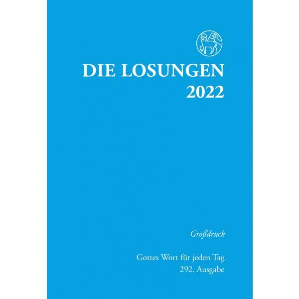Die Losungen 2022 – Großdruck