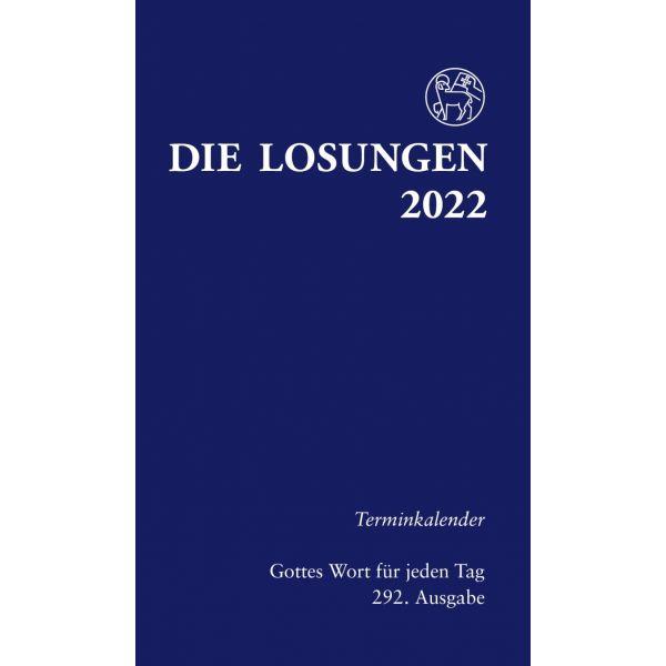 Die Losungen 2022 – Terminkalender