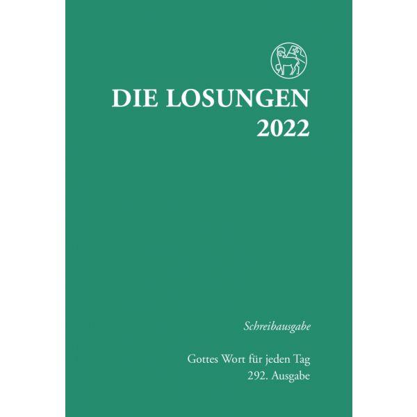 Die Losungen 2022 – Schreibausgabe