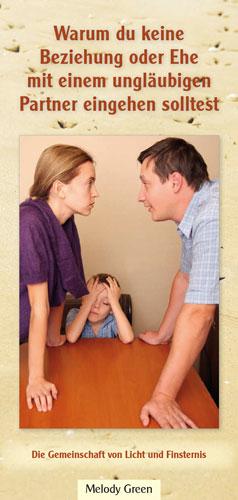 Warum du keine Beziehung oder Ehe mit einem ungläubigen Partner eingehen solltest