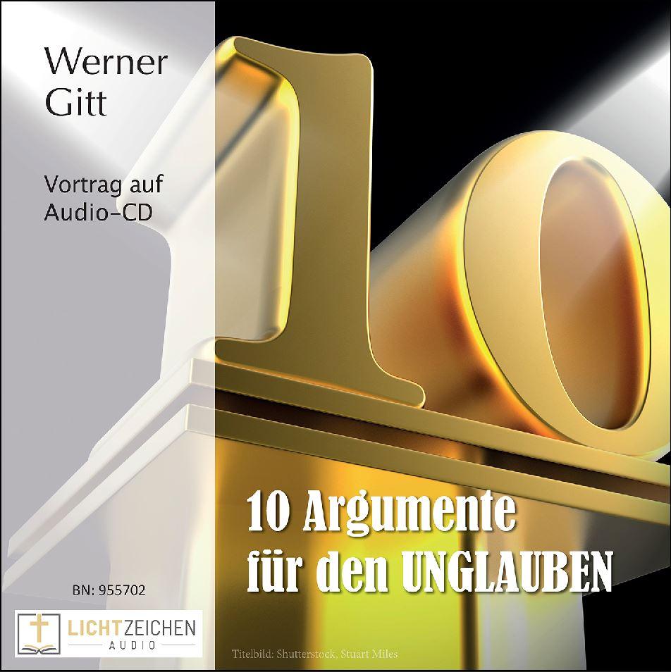 Zehn Argumente für den Unglauben (Audio-CD)