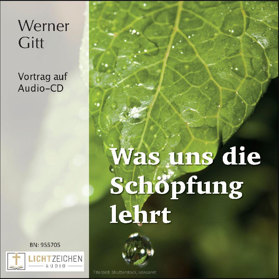 Was uns die Schöpfung lehrt (Audio-CD)