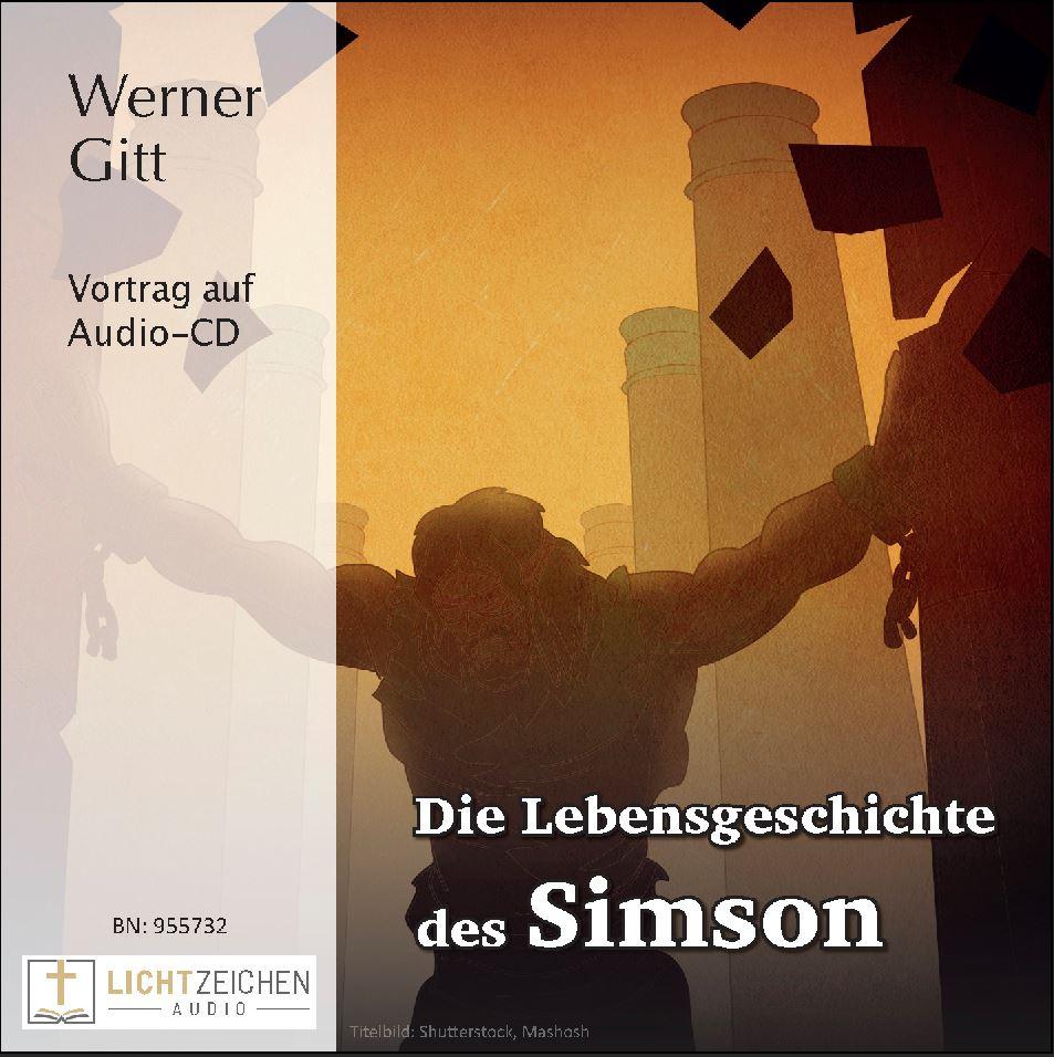 Die Lebensgeschichte des Simson (Audio-CD)
