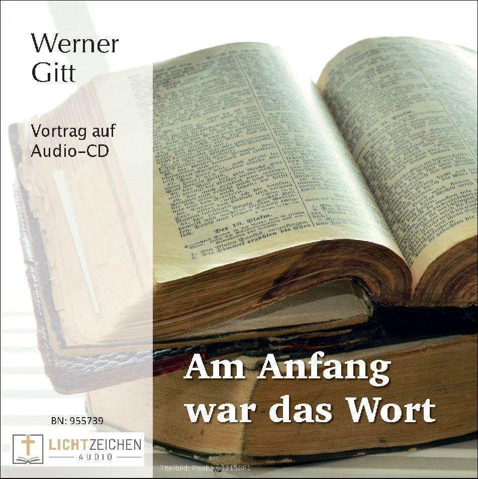 Im Anfang war das Wort (Audio-CD)