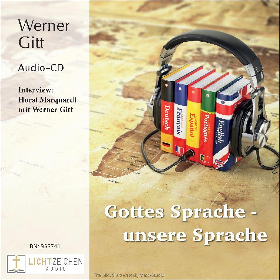 Gottes Sprache – unsere Sprache (Audio-CD)