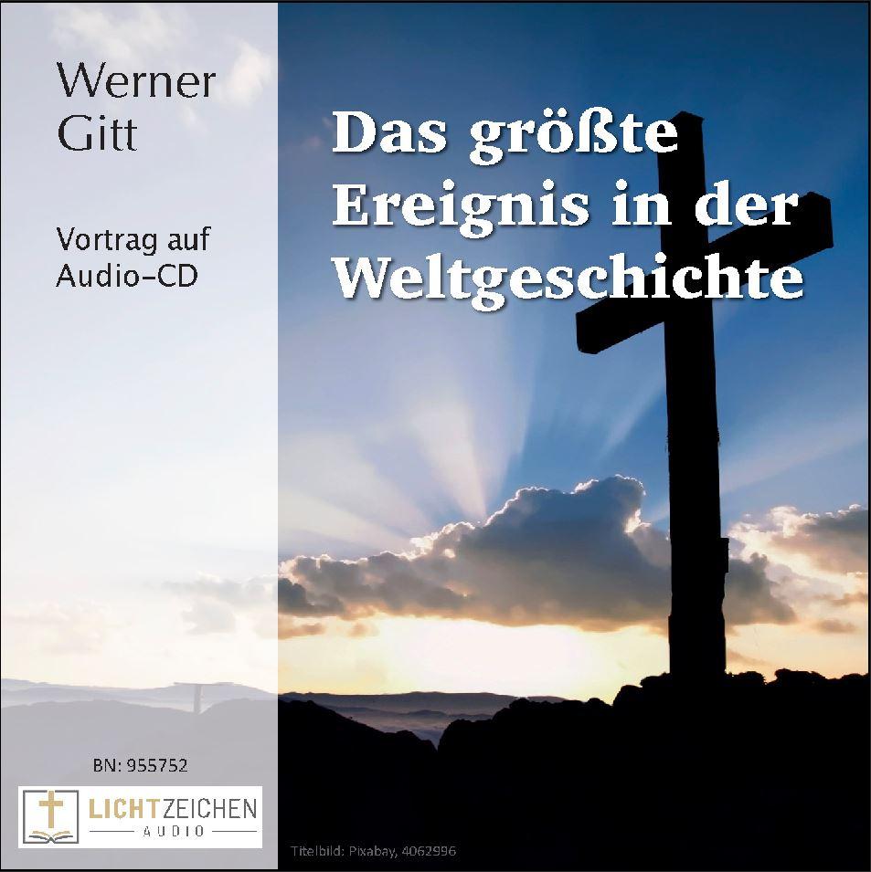 Das größte Ereignis in der Weltgeschichte (Audio-CD)