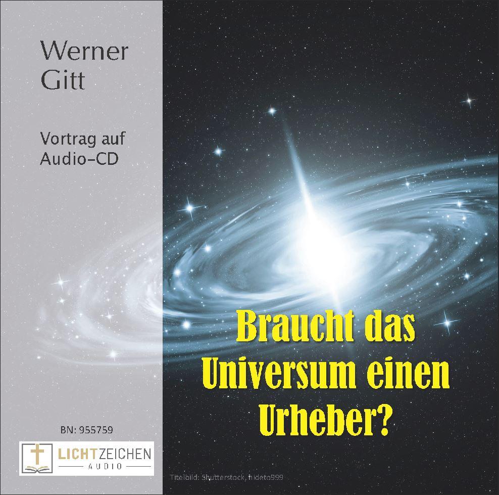 Braucht das Universum einen Urheber? (Audio-CD)