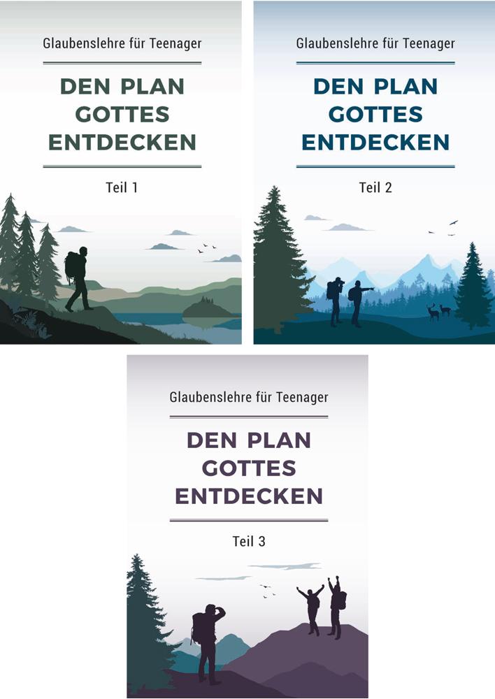 Den Plan Gottes entdecken – Buchpaket Teile 1-3