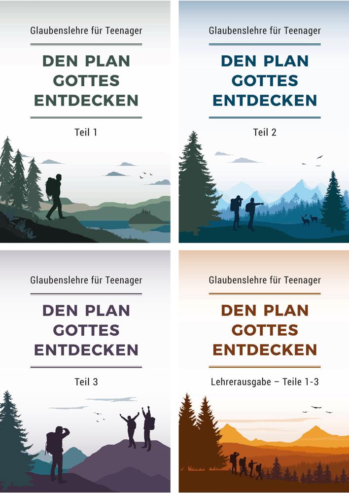 Den Plan Gottes entdecken – Buchpaket Teile 1-3 und Lehrerausgabe