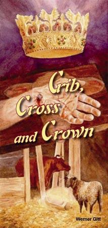 Englisch: Krippe, Kreuz und Krone