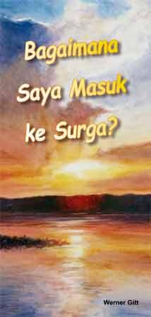 Indonesisch: Wie komme ich in den Himmel?
