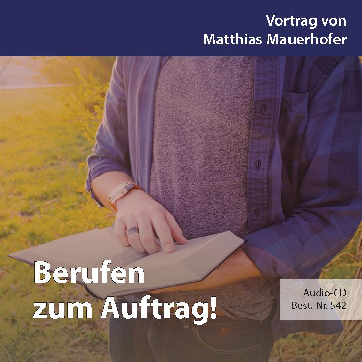 Missions- und Freundestage 2017: Berufen zum Auftrag!