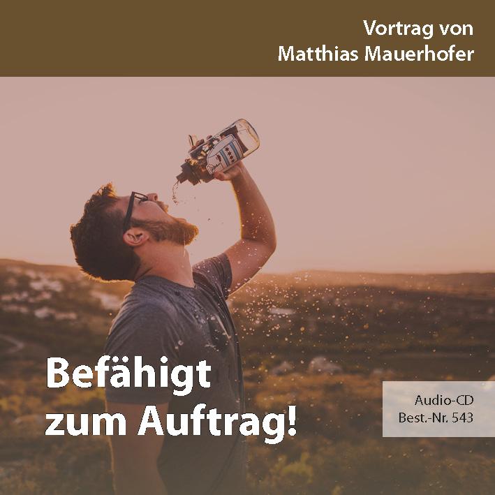 Missions- und Freundestage 2017: Befähigt zum Auftrag!