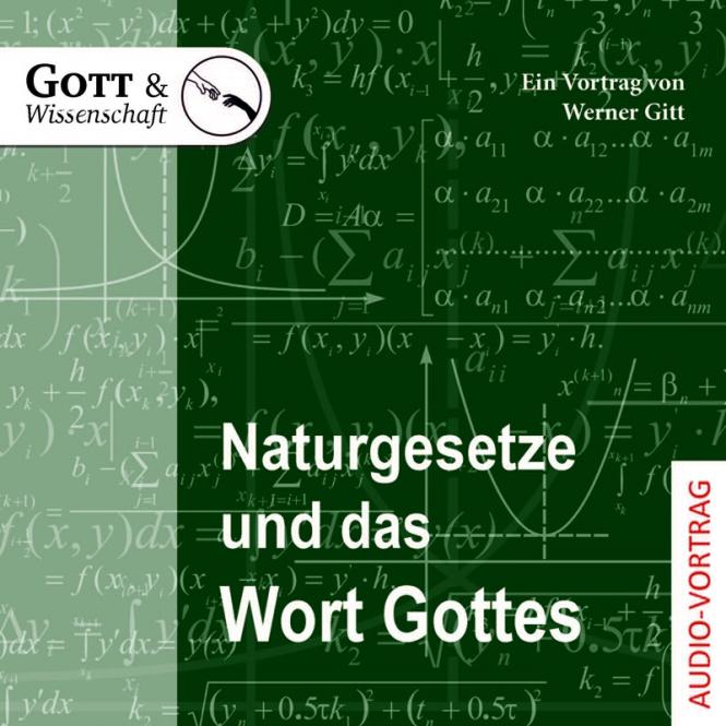 Naturgesetze und das Wort Gottes (Audio-CD)